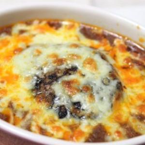 【レシピ】レトルトでOK! ハンバーグカレードリア