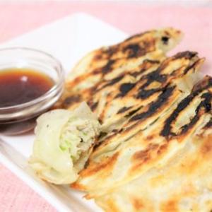 【レシピ】野菜がたっぷり食べられる! 豆苗とキャベツ、鶏ひき肉の餃子