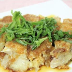 【レシピ】「プチッとうどんの素」で簡単! 鶏唐揚げの和風おろしがけ