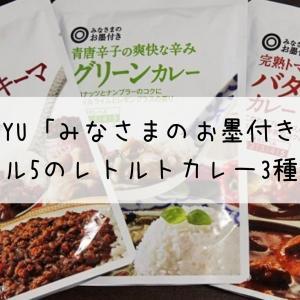 【実食レポ】SEIYU「みなさまのお墨付き」 レトルトカレー3種食べ比べ(辛さレベル5)