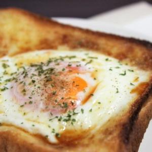 【レシピ】朝食にぴったり! 簡単「目玉焼きトースト」