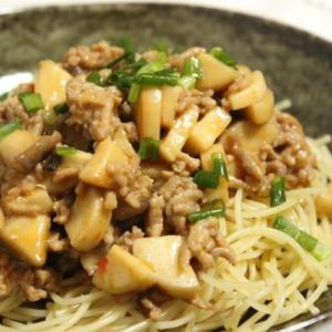 【レシピ】ごまだれとパスタでお手軽に!汁なし担々風パスタ
