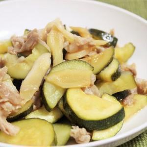 【レシピ】新生姜で味が決まる! 「ズッキーニ、豚肉の新生姜焼き」