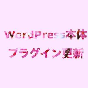 WordPress本体・プラグイン更新サービス!