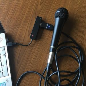 USBマイクケーブル レビュー