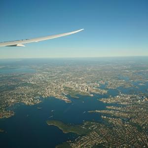 SFC修行#3:羽田→シドニーからのアデレードまで行きます