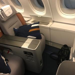 ミュンヘン→北京 ルフトハンザ(LH722,CA6222 )ビジネスクラス搭乗記【A380ビジネスクラス】