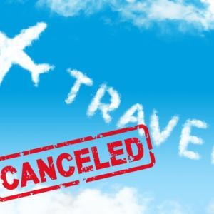 コロナの影響で予約していたタイ国際航空のファーストクラス便が欠航