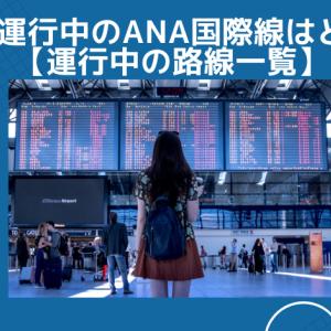 現在運行中のANA国際線はどこ?【運行中の路線一覧】
