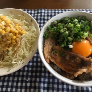 昼ごはん(焼肉丼) 2020.4.19