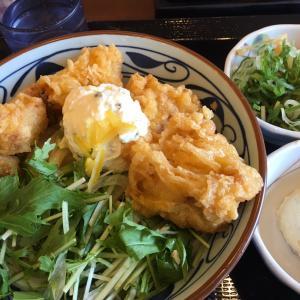 休日ごはん(丸亀製麺〜ハムカツ)2020.9.29