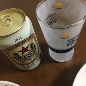 猛暑でぐったりの休日晩ごはん。