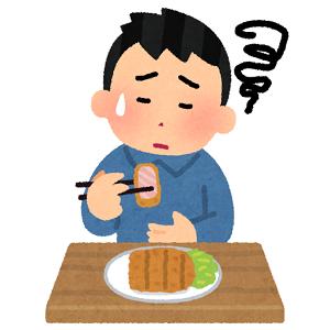 【悲報】ワイデブ、突然少食になる