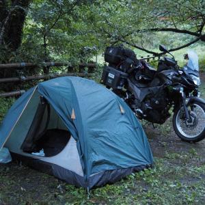 越後遠征[4]奥村杉キャンプ場