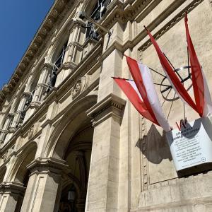 オーストリアでも大阪なおみさん報道 ウィーンのコロナ状況報告とマスク警察