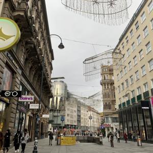 オーストリア第2回目ロックダウン【8日目】ウィーン・ケルントナー通りのようす