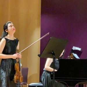 オーストリアの音楽大学の門下クラスコンサート