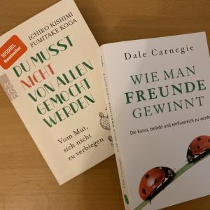 ウィーンの音大生も読んでいる、「嫌われる勇気」と「夢をかなえるゾウ」