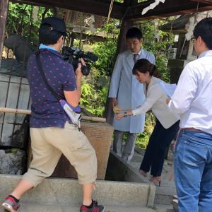 KBS京都の番組ロケ〜パワースポット神社を巡る〜