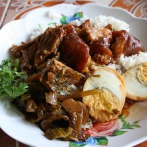 チェンマイのカオカーム(豚足ご飯) おすすめのお店7選