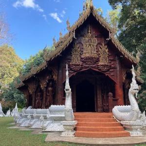 チェンマイの秘境寺 辿り着けない人が続出するパワースポット
