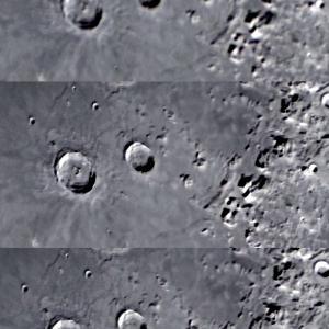 Topaz社のDeNoise AIで月面処理してみました。