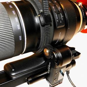 Tamron 150-600 mm ズームレンズにNucleus-Nanoモーターを付けてワイヤレス・フォーカス化。