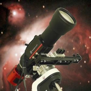 Tamron 150-600mm を使った ASILive による M42 のライブスタック。