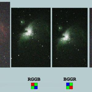ZWO ASIカメラからのFitsファイルの画像処理あれこれ。 1. ディベイヤー処理の不思議