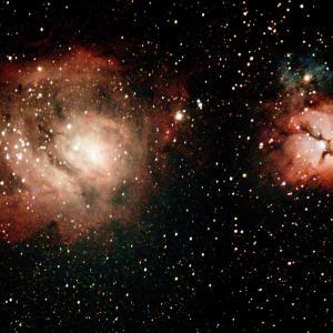 夏の星団、星雲をライブスタックで観望。