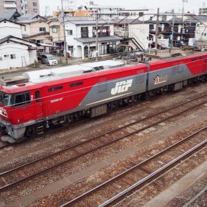 鉄分補給 —— 仙台貨物ターミナル駅