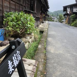 妻籠宿、寝覚の床、奈良井宿経由軽井沢。