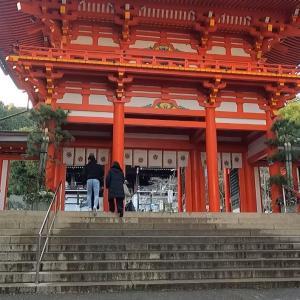 初詣:参拝者激減の近江神宮+今年も夢を叶えよう+古民家から見る雪景色!