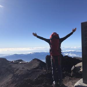 定年後の人生について+仮眠僅か1.5時間で登山開始(全行程紹介)+日本一高い山で見るご来光は凄いぞ!+今日の練習&一期一会を大切にしよう!