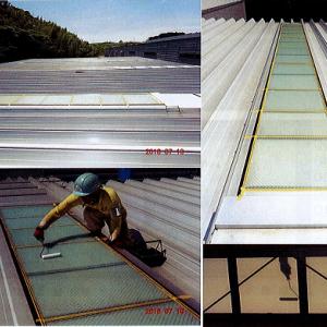 工場の暑さ対策・節電対策 天窓・窓ガラス編