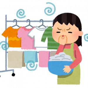 部屋干しを早く乾かし、匂わないようにするためには
