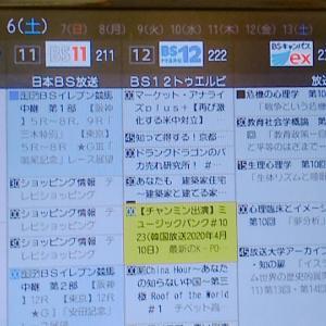 日本のテレビ