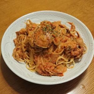 自宅で簡単レストランの味 カニのトマトクリームパスタ 毎日ご飯