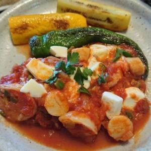 孤独のグルメ9 ギリシャ料理 エビとホタテのサガナキを作ってみた 毎日ご飯