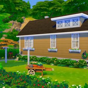 島の小さな家を改装