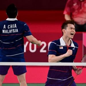 祝マレーシア初メダル、そして再びお裾分け