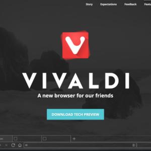 Operaの元CEOが開発した新Webブラウザ「Vivaldi」を触ってみた