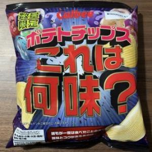 【スナック】ポテトチップス これは何味?