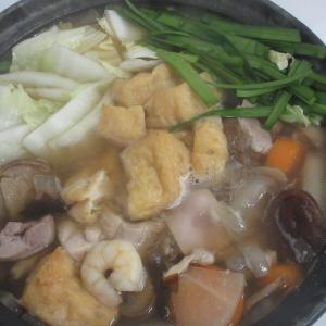 寒い日は鍋物♪