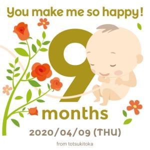 32w0d*妊娠9ヶ月突入*
