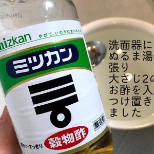 【お風呂の必需品、洗面器のお掃除/お手入れ】5分+@