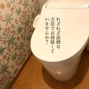 【トイレ掃除をもっと簡単に/クエン酸パックやめました】5分