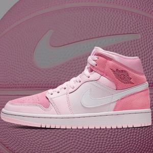 Air Jordan 1 Mid in Pink Tones【近日発売】エア ジョーダン ワン ミッド ピンク トーン