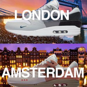 "Air Max 1 City Pack ""London""&""Amsterdam""【3/19発売】エアマックス ワン シティ パック ロンドン アムステルダム"