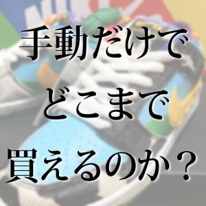 【チャレンジレポート】SNKRS・国内・海外 手動だけで、どこまで購入できるのか?【6/3現在】